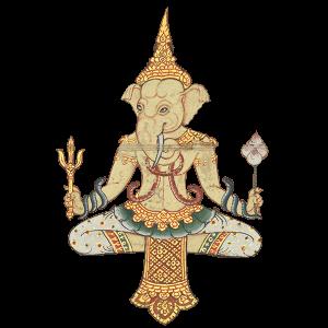 Detail, Elephant treatise <br /> 1816<br /> Thailand<br /> CBL Thi 1301<br />